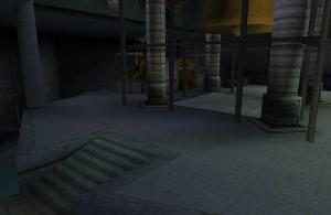 薄暗く入り組んだ内部の「ヴェッフル塔」