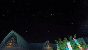 「ロココの街」が美しい夜景