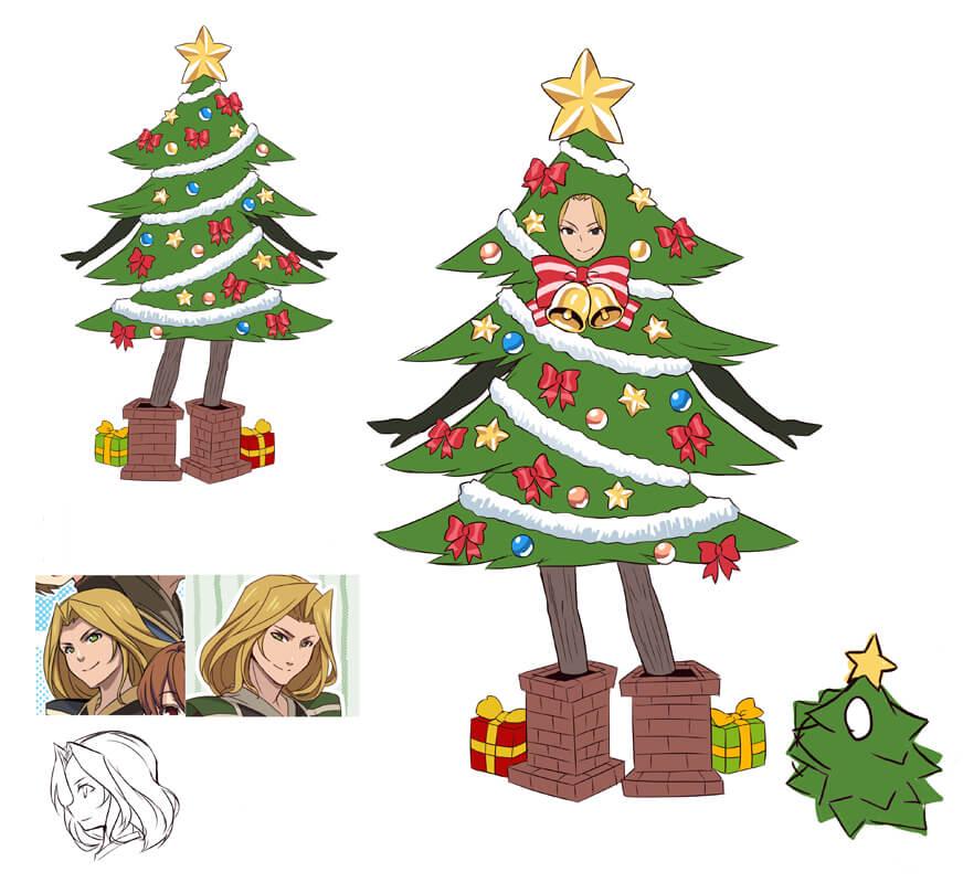 ヴァニアさん | イルーナ戦記クリスマス2016