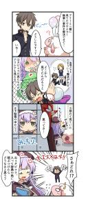 学園イベント開催記念!新作四コマ漫画02