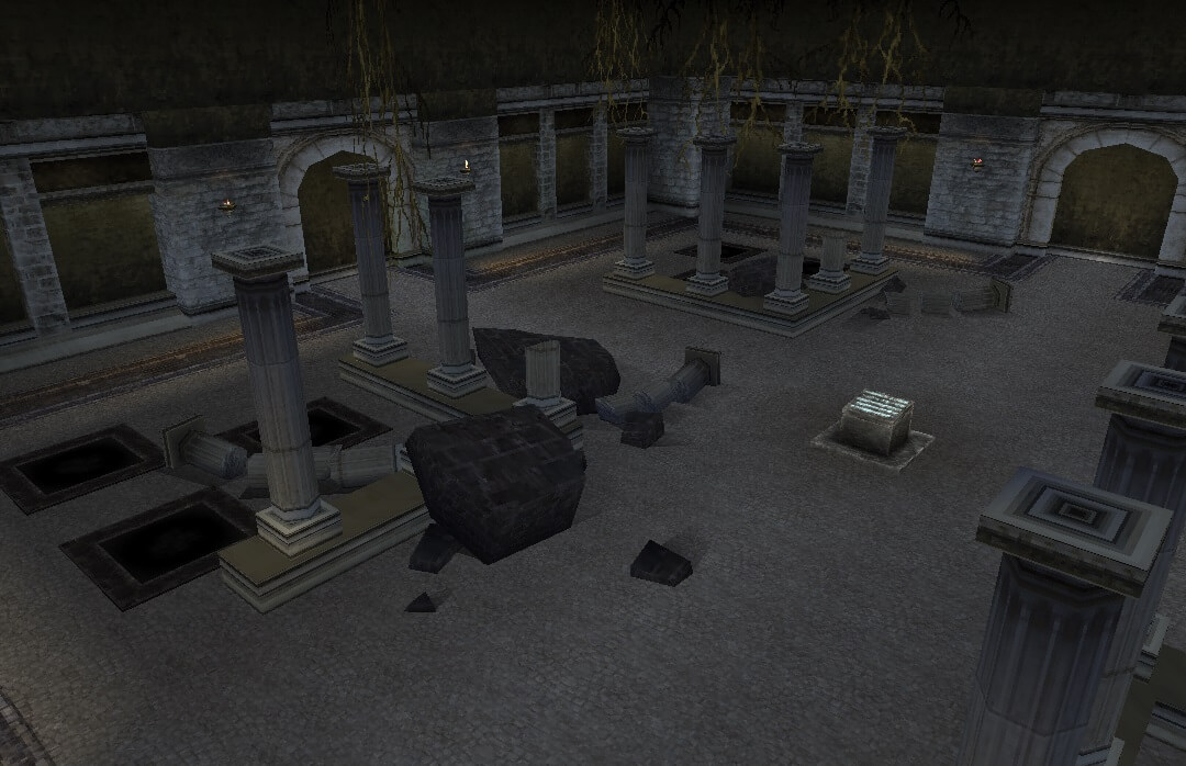 ロイエ地下聖堂_02 | イルーナ戦記